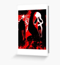 Scream Greeting Card
