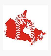 Canada Baseball Photographic Print