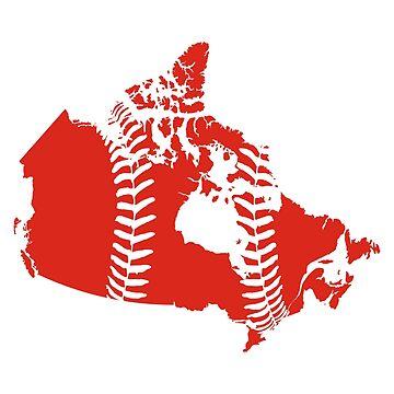 Canada Baseball by atedaryl