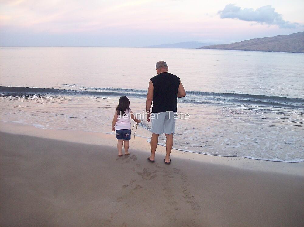 Grandpa and Em by Jennifer  Tate
