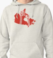 Canada Baseball Pullover Hoodie