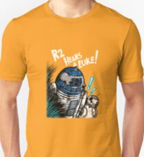 R2 Hears a Luke Unisex T-Shirt