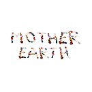 New age crystals and gemstones spelling out Mother Earth  by PhotoStock-Isra