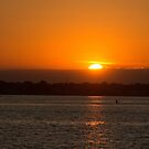 Sunset from Island Park, NY by KarenDinan