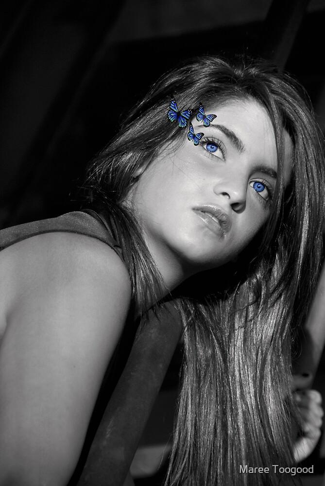 Farfalla Blu by Maree Toogood