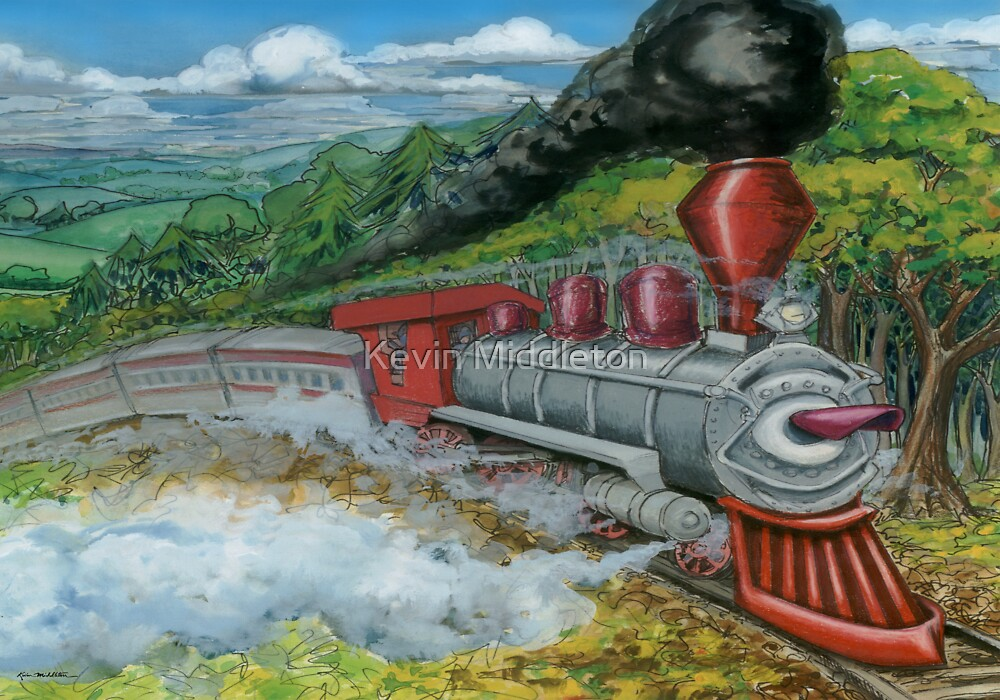 Steam Train by Kevin Middleton