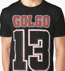 Golgo Jersey Graphic T-Shirt
