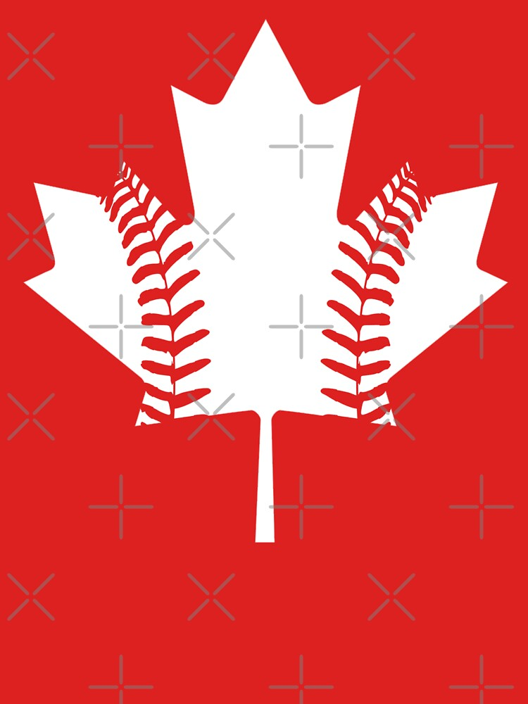Maple Leaf Baseball (White) by atedaryl