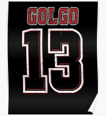 Golgo Jersey Poster