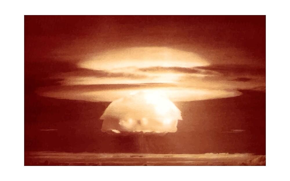 Nuclear explosion by pereirashop
