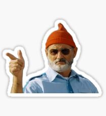 Bill Murray, Steve Zissou Sticker