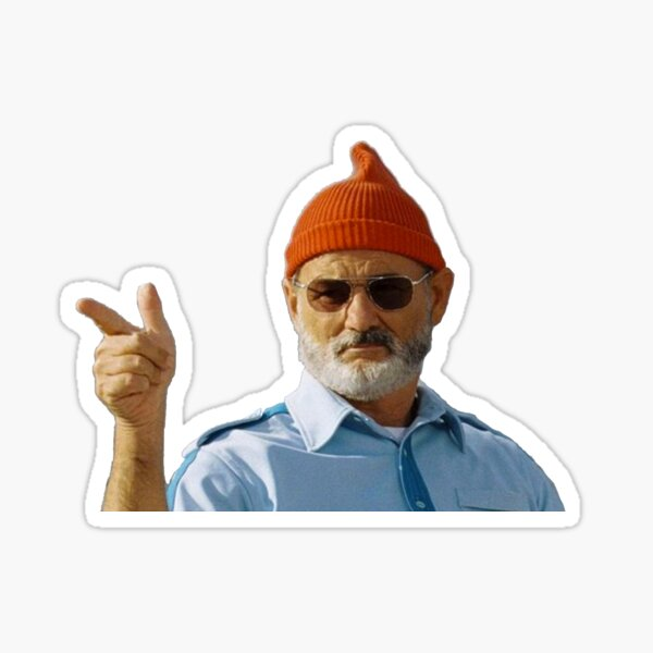 Bill Murray Sticker