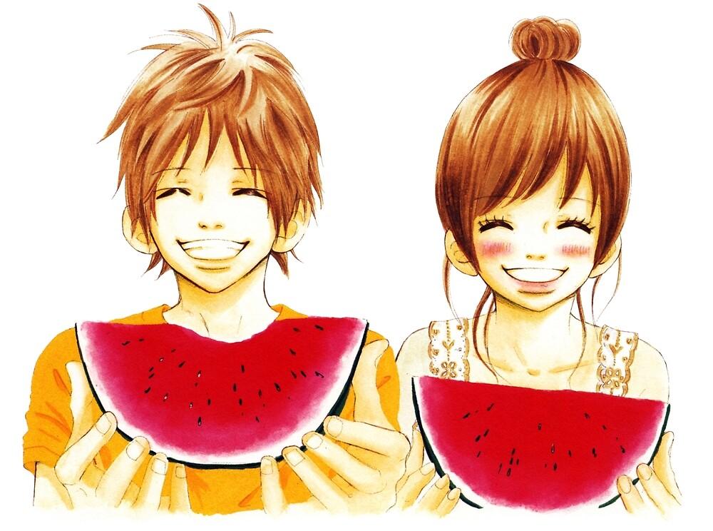 Yano & Nana by mapacheattack
