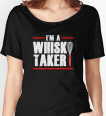 Whisk Taker Funny Baker Chef Women's Relaxed Fit T-Shirt