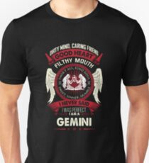 Gemini Tshirt Birthday Shirt For Men Women Best Gifts Unisex T