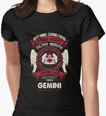Gemini Tshirt. Birthday Shirt For Men/Women. Best Gifts Womens Fitted T-Shirt