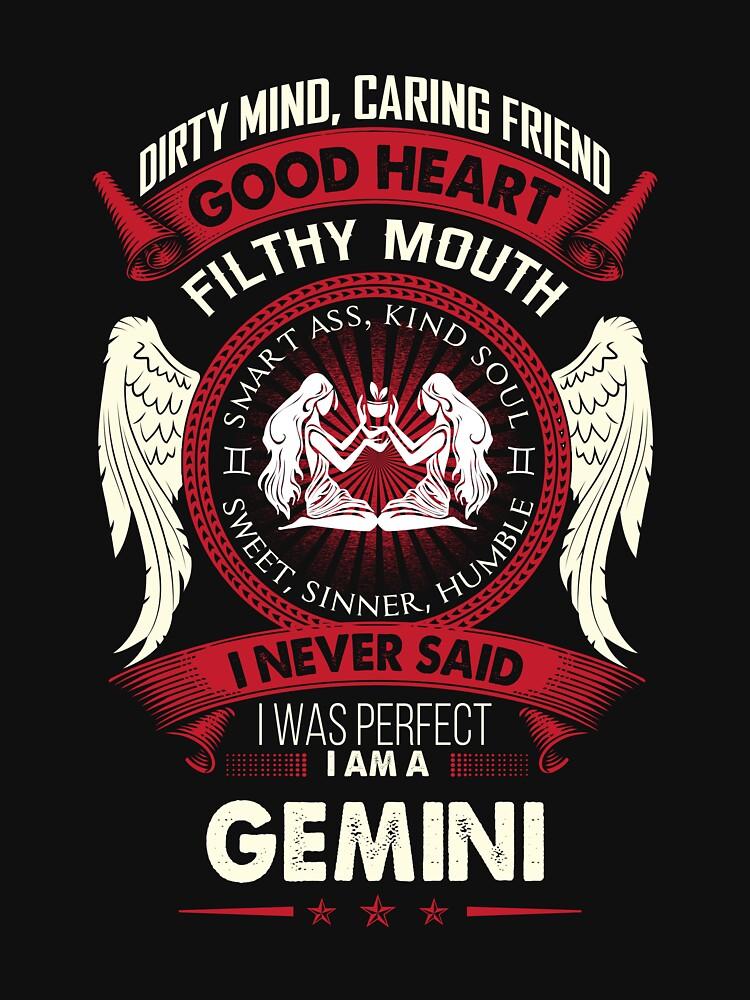 Gemini Tshirt Birthday Shirt For Men Women Best Gifts By Phungngocquynh