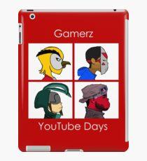 Gamerz YouTube Days 2 iPad Case/Skin
