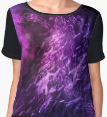 Energy of the Abyss Chiffon Top