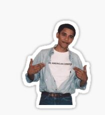 Barrack Obama The American Dream Sticker