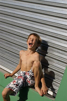 laughing boy by lesley poole