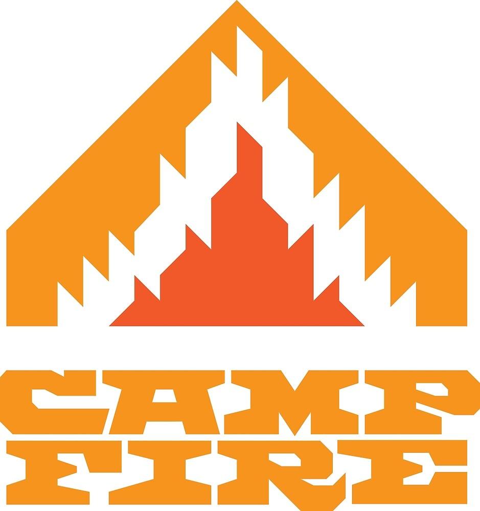 Camp Fire (Orange) by shockbeton