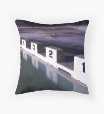 Merewether Ocean Baths Throw Pillow
