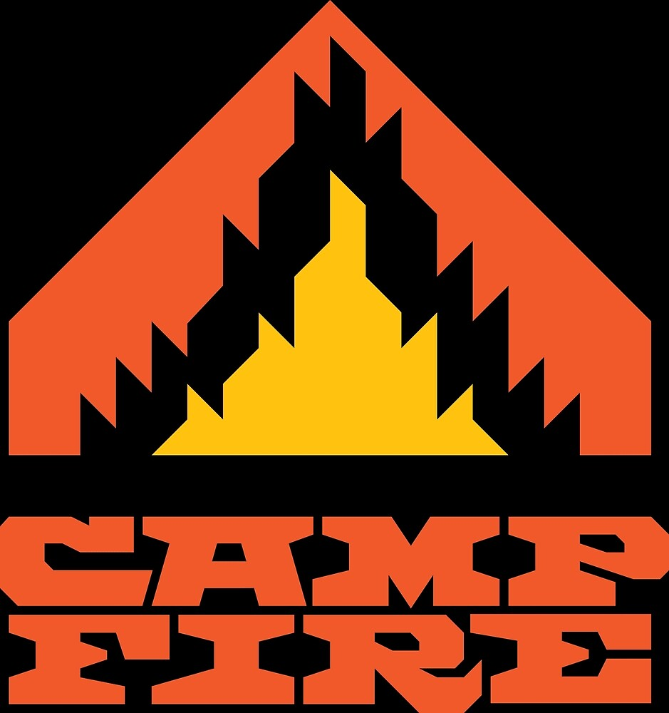 Camp Fire (Red) by shockbeton