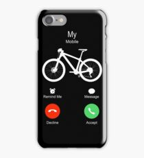 MTB Mobile is calling to ride! iPhone Case/Skin