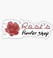 """BLACKPINK [SQUAD] - Rosé's Flower Shop """"As If It's Your Last"""" Graphic Sticker"""