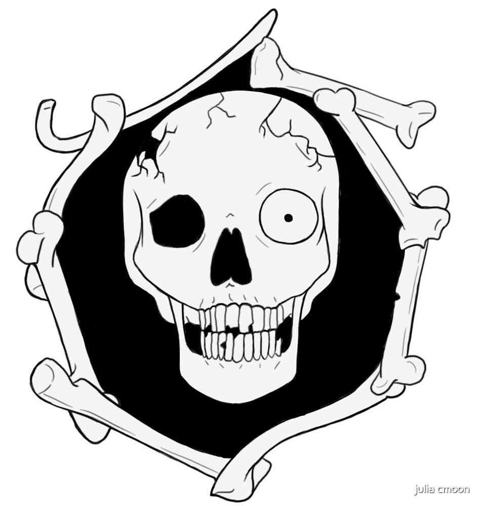 Skull and Bones by Curlkitty