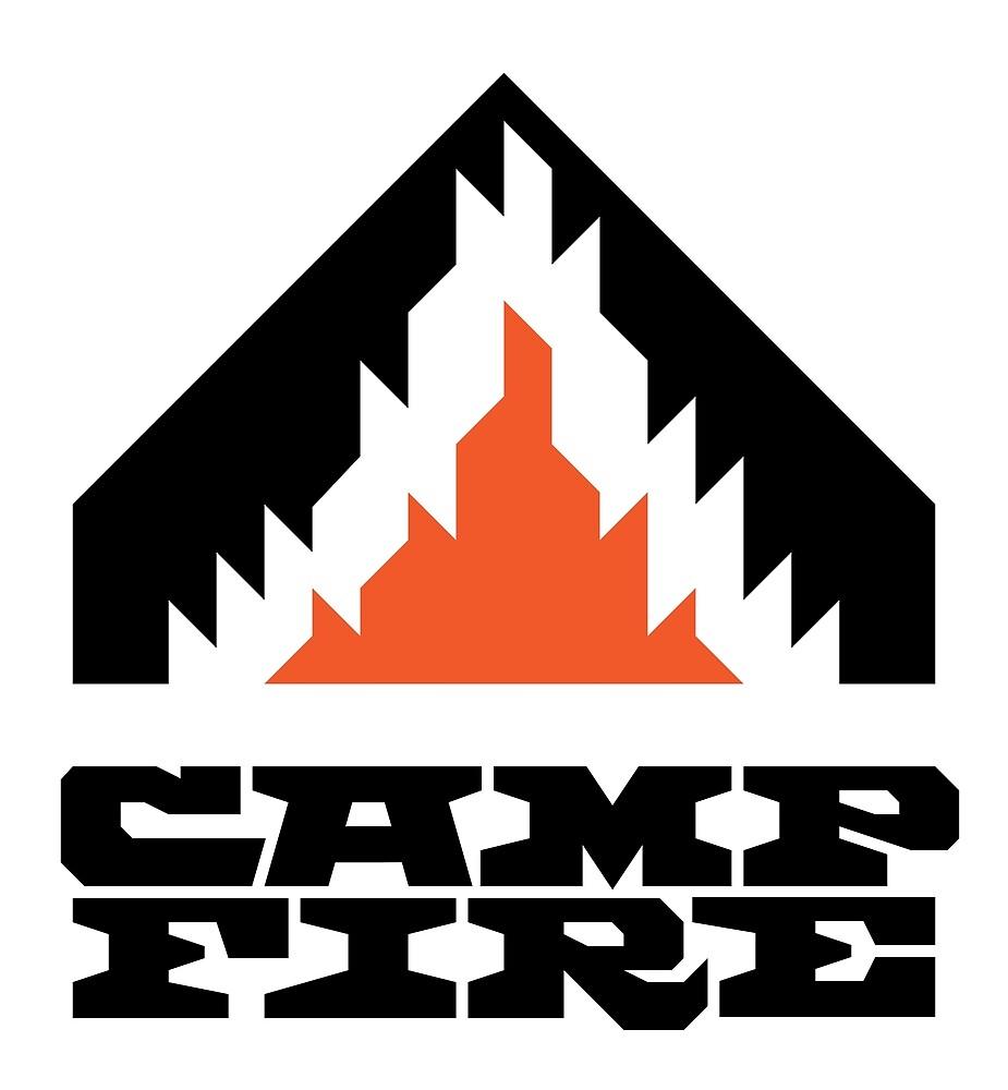 Camp Fire (Black) by shockbeton