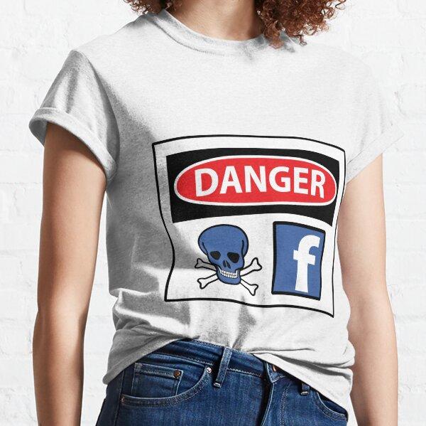 Facebook is Poisonous Classic T-Shirt