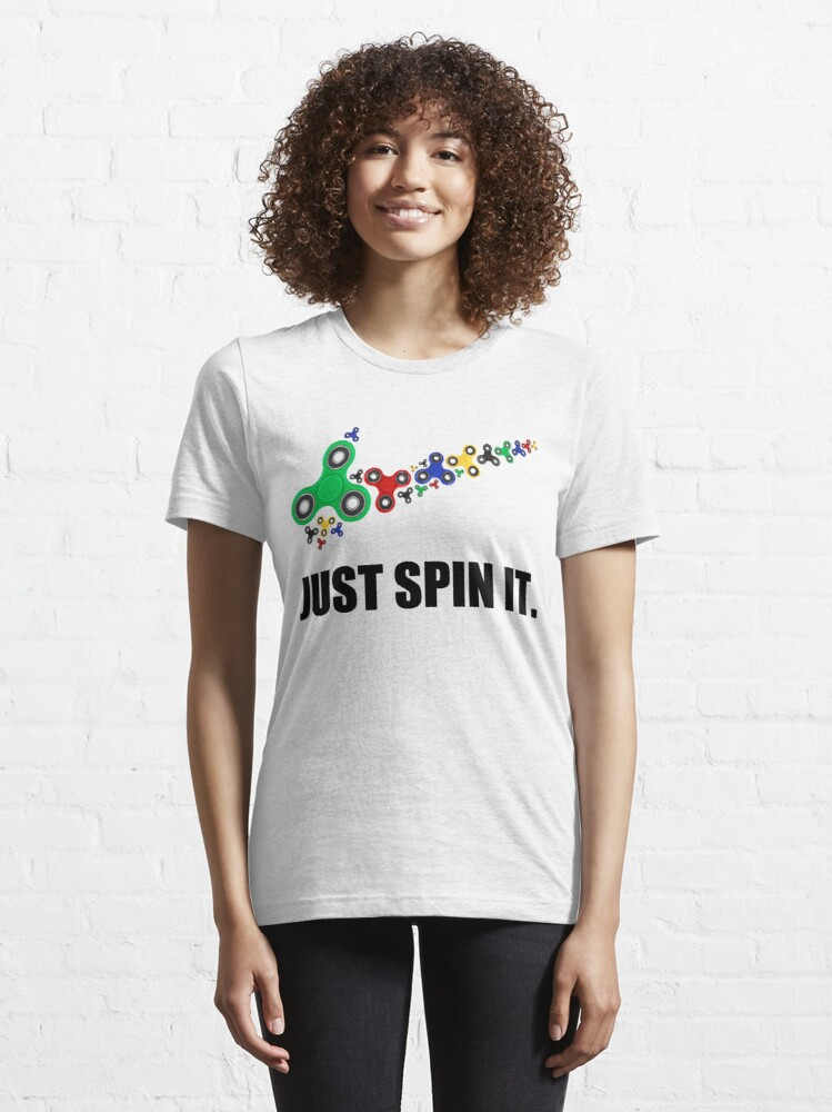 Alternate view of JUST SPIN IT. Essential T-Shirt