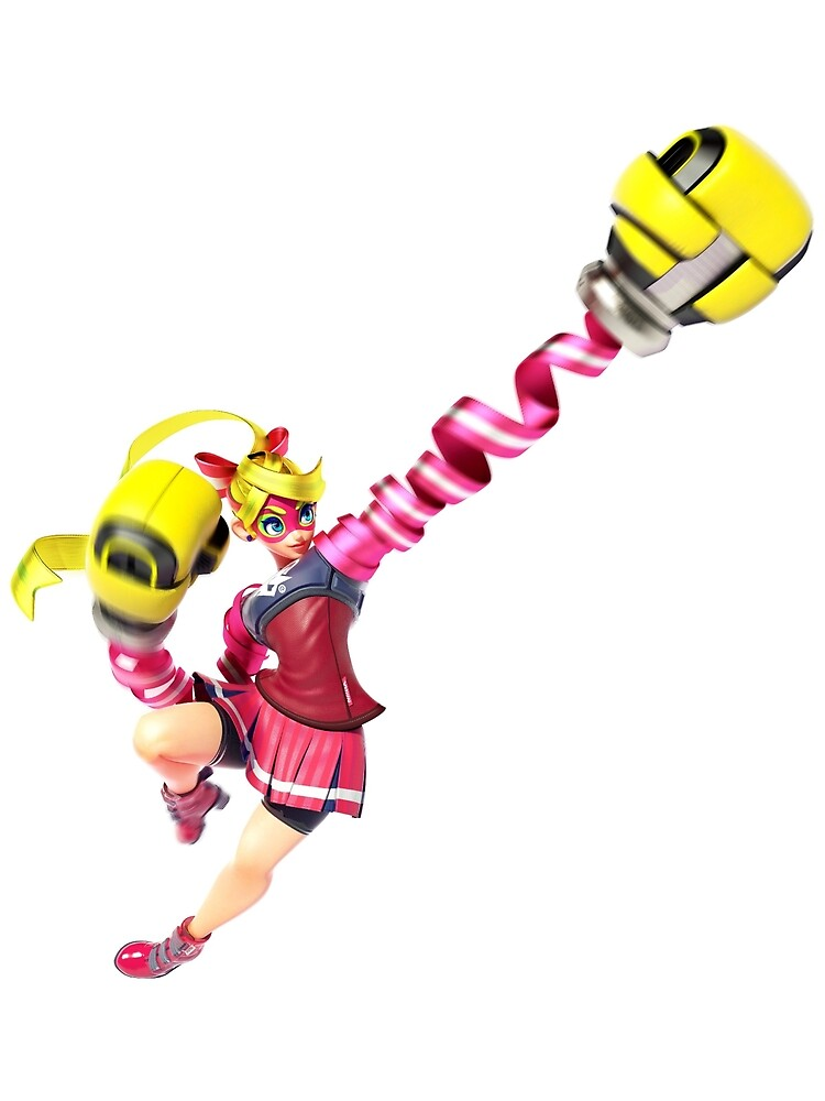 Ribbon Girl - ARMS for Nintendo Switch by overflag