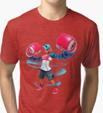 Spring Man - ARMS for Nintendo Switch Tri-blend T-Shirt