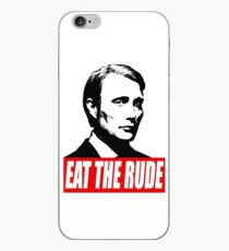 EAT THE RUDE - Hannibal iPhone Case