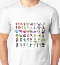 monsters creatures collection Unisex T-Shirt
