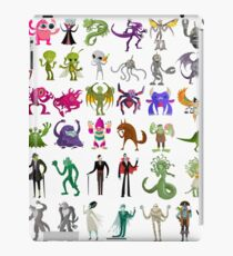 monsters creatures collection iPad Case/Skin