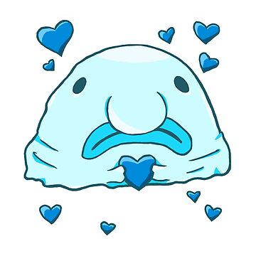Blobfish Love (Blue) by PurpelPanther