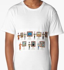 great seven painters of history Long T-Shirt