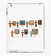 great seven painters of history iPad Case/Skin