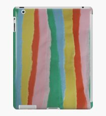 Construction Paper Stripes iPad Case/Skin