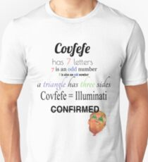 Covfefe Meaning (Color) Unisex T-Shirt