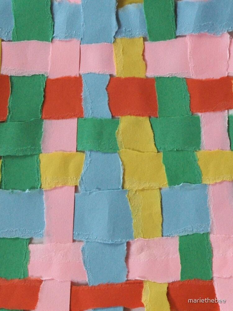Summer Weave Block by mariethebee