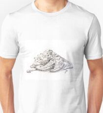 Sydney octopus ink drawing - Octopus tetricus Unisex T-Shirt