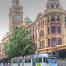 Flinders Street Station by Michael Matthews
