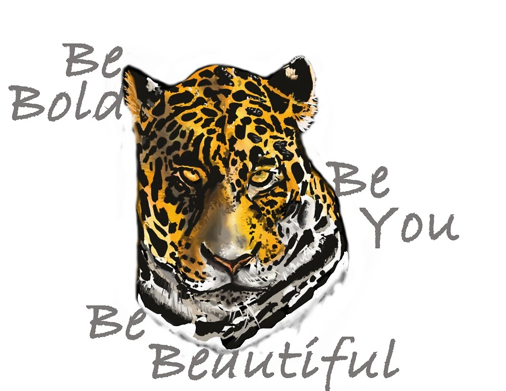Bold Beautiful You, Jaguar by unityheroes