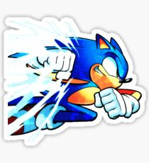 Sonic Punch Sticker