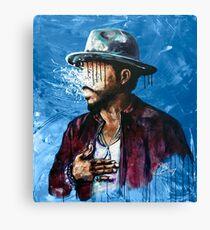 Naturally Charlene BLUE Canvas Print